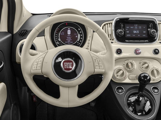 2017 Fiat 500 Lounge In Laconia Nh Irwin Ford Lincoln