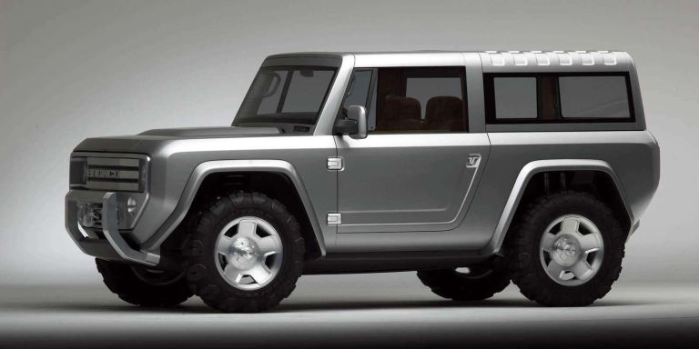 The Ford Bronco As Imagined Based On Troller
