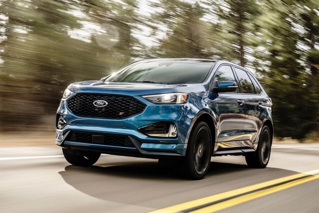 Bringing St Performance To An Suv 2018 Ford Edge Sport Exterior
